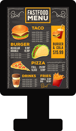 Features Of Restaurant Self-Ordering System